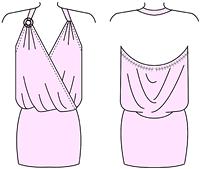 Как нарисовать платье летнее