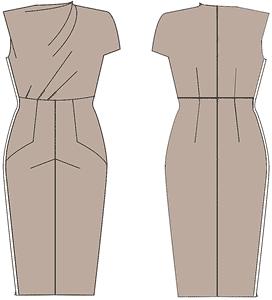 короткие платья для полных женщин