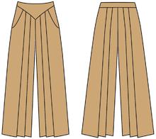 Брюки на кокетке выкройка - Тут самые лучшие брюки